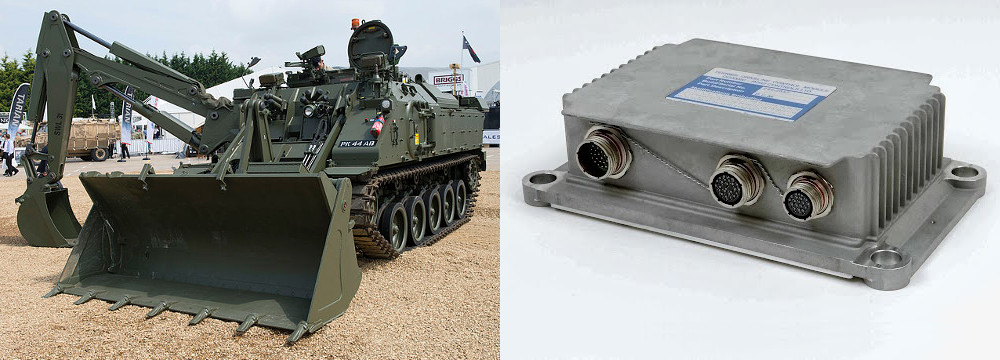 Terrier Armoured Engineering Vehicle